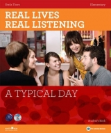 REAL LIVES, REAL LISTENING ELEMENTARY: A TYPICAL DAY + AUDIO CD PACK - THORN, S.