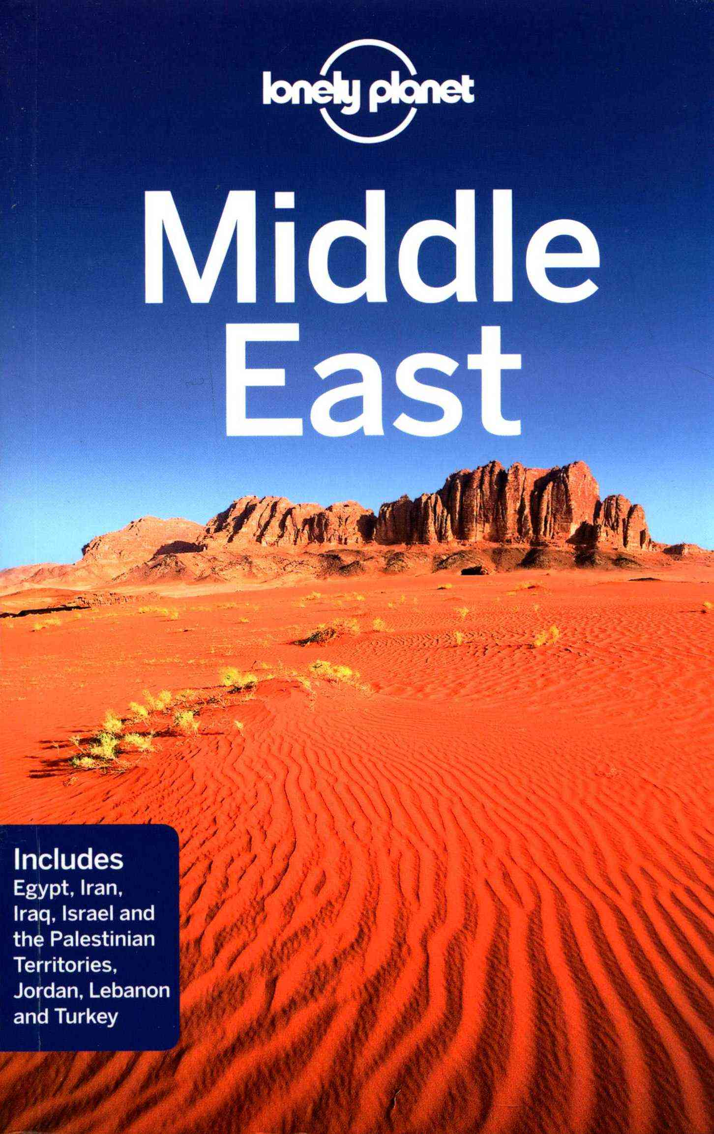 Lonely Planet Middle East 8.