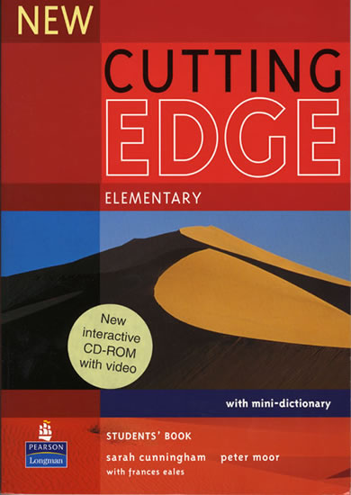 New Cutting Edge Elementary Students´ Book w/ CD-ROM Pack - Students Book Pack - Sarah Cunningham