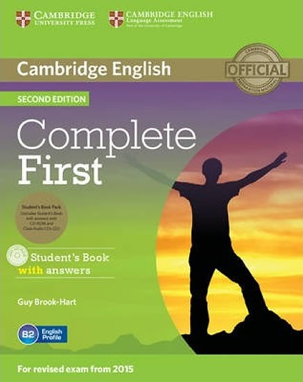 Complete First B2 Student´s Book Pack (Student´s Book with Answers with CD-ROM, Class Audio CDs (2)) (2015 Exam Specification) - Guy Brook-Hart
