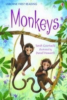 USBORNE FIRST READING LEVEL 3: MONKEYS - COURTAULD, S., HOWA...