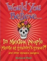 WOULD YOU BELIEVE... IN MEXICO PEOPLE PICNIC AT GRANNY´S GRA...