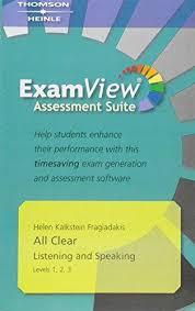 ALL CLEAR Second Edition 1/2/3 EXAMVIEW ASSESSMENT CD-ROM - FRAGIADAKIS, H. K.