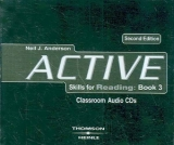 ACTIVE SKILLS FOR READING Second Edition 3 AUDIO CDs - ANDER...