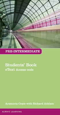 New Total English Pre-Intermediate Student eText - 1st Special edition - Araminta Crace