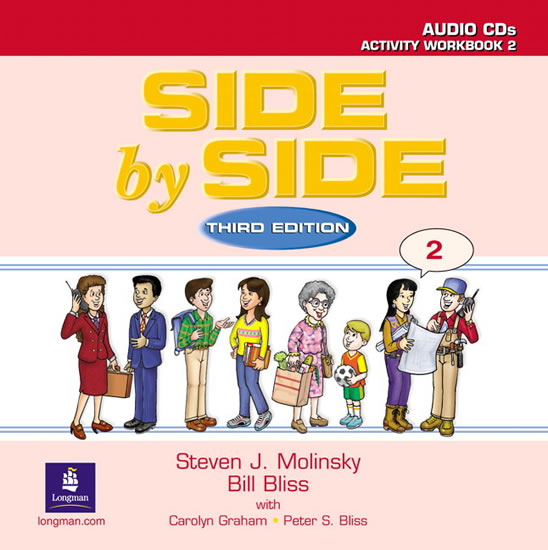 Side by Side 2 Activity Workbook 2 Audio CD (2) - Steven J. Molinsky