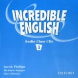 INCREDIBLE ENGLISH 1 CLASS AUDIO CDs /2/ - MORGAN, M., PHILL...