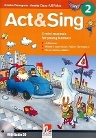ACT & SING 2 + AUDIO CD (3 mini-musicals for young learners)...