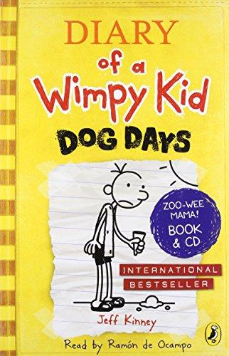 DIARY OF A WIMPY KID 4: DOG DAYS - BOOK AND CD - Jeff Kinney