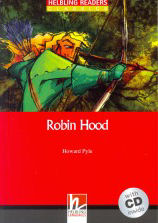 Helbling Readers Classics Level 2 Red Line - Robin Hood + Audio CD Pack - Howard Pyle