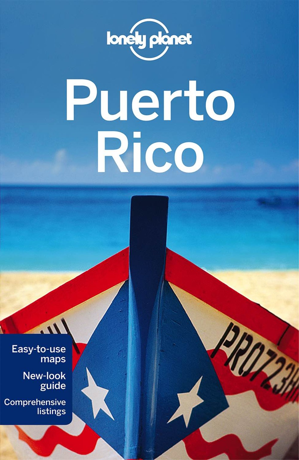 Lonely Planet Puerto Rico 6.