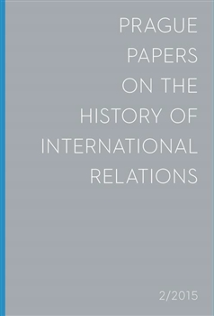 Prague Papers on the History of International Relations 2015...