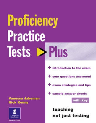 Practice Tests Plus CPE - N. Kenny, Vanessa Jakeman