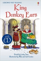 Usborne First Reading Level 2: King Donkey Ears + CD - Sims,...