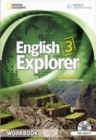 ENGLISH EXPLORER 3 WORKBOOK + WORKBOOK AUDIO CD - BAILEY, J....