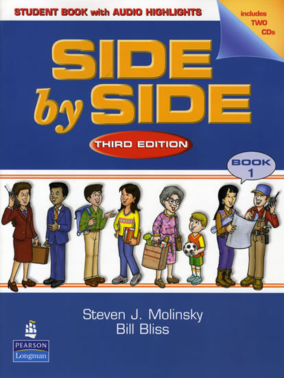 Side by Side 1 Student Book 1 w/ Student Audio CD Highlights - Steven J. Molinsky