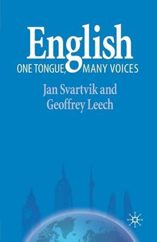 English One Tongue, Many Voices