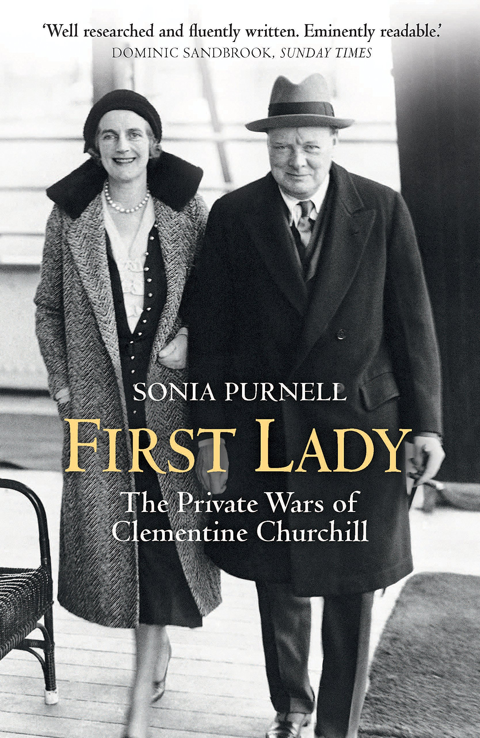 First Lady: The Life and Wars of Clementine Churchill - Purn...