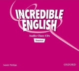 INCREDIBLE ENGLISH STARTER CLASS AUDIO CDs /2/ - PHILLIPS, S...