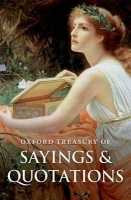 OXFORD TREASURY OF SAYINGS AND QUOTATIONS Fourth Edition - R...