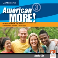 American More! Level 3 Class Audio CDs (2)