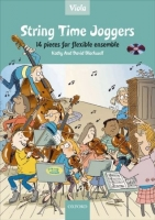 STRING TIME JOGGERS VIOLA BOOK with AUDIO CD - BLACKWELL, K....