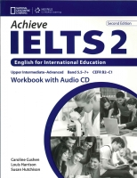 ACHIEVE IELTS 2 Second Edition WORKBOOK with AUDIO CD - HARR...