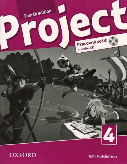 PROJECT Fourth Edition 4 WORKBOOK with AUDIO CD (SLOVENSKÁ v...