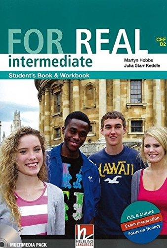 FOR REAL INTERMEDIATE STUDENT´S PACK (Student´s Book / Workb...