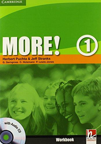 More! Level 1 Workbook with Audio CD - Puchta, H et al