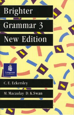 Brighter Grammar - Bk.3 - C.E. Eckersley, M. Macaulay