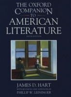 OXFORD COMPANION TO AMERICAN LITERATURE - HART, J. D.