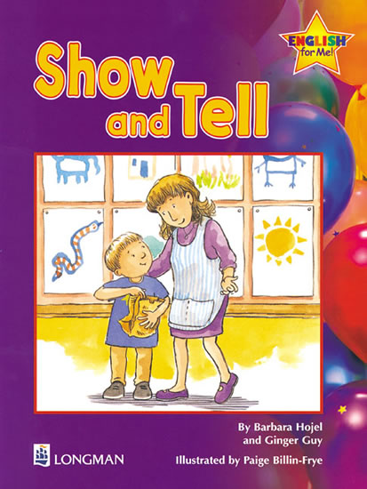 Show and Tell Storybook 1, English for Me! - Barbara Hojel