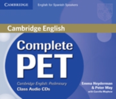 Complete PET for Spanish Speakers Class Audio CDs