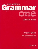 GRAMMAR ONE New Edition ANSWER BOOK AND AUDIO CD PACK - SEID...