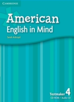 American English in Mind Level 4 Testmaker Audio CD and CD-R...