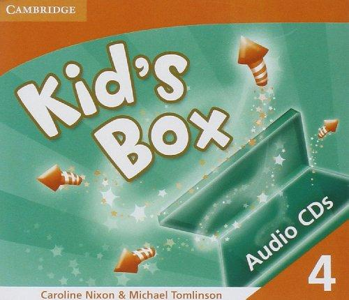 Kid's Box Level 4 Audio CDs (3) - Caroline Nixon.Michael Tom...