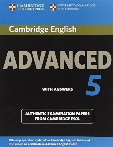 Cambridge English Advanced 5 Student's Book with answers