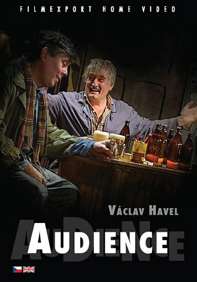 Audience - DVD box - Václav Havel
