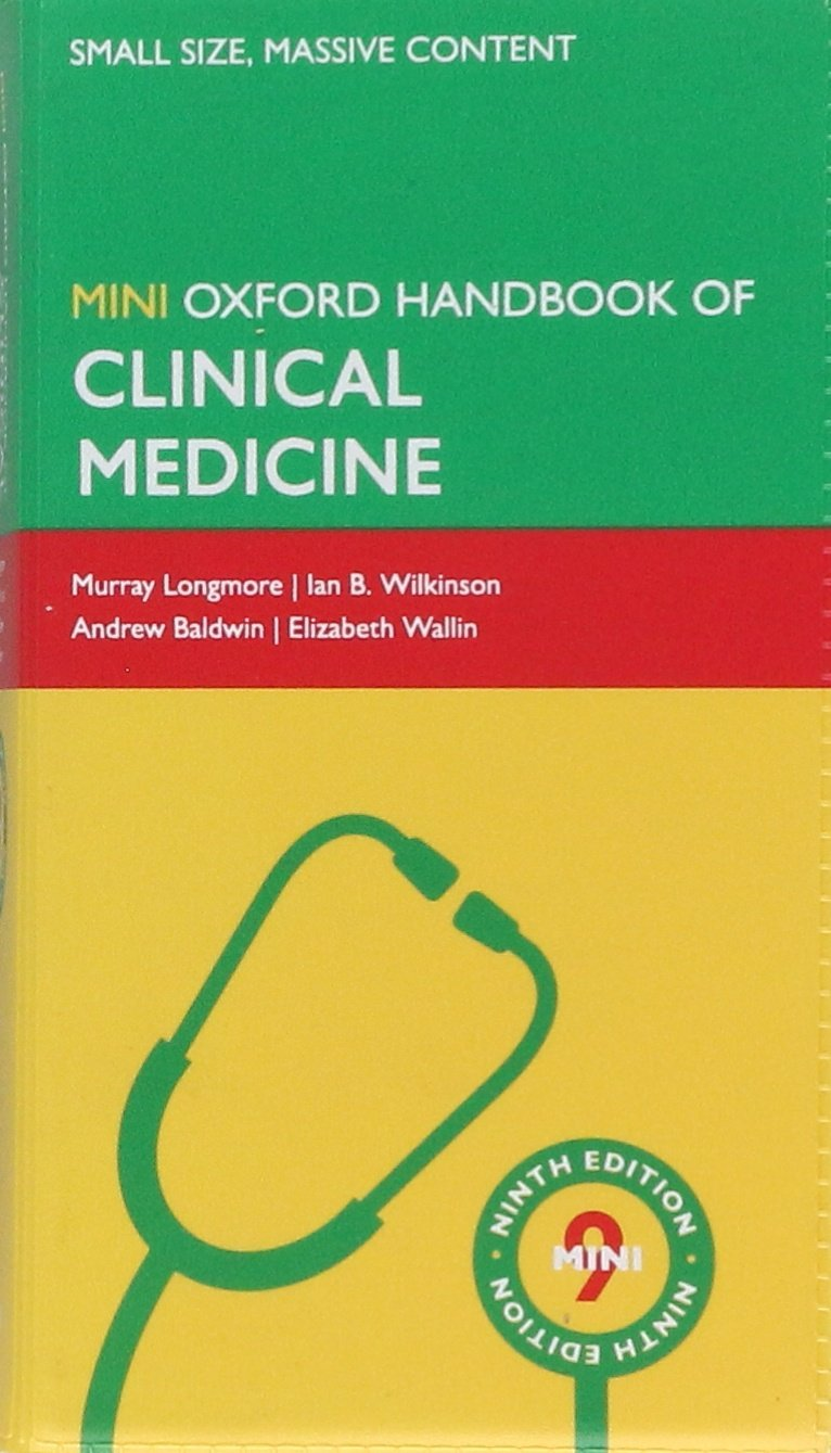 Oxford Handbook of Clinical Medicine-Mini, 9th Ed. - Baldwin...