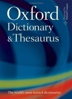 OXFORD DICTIONARY AND THESAURUS 2nd Edition - OXFORD