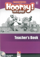 HOORAY, LET´S PLAY! B TEACHER´S BOOK WITH CLASS AUDIO CD AND DVD-ROM - PUCHTA, H., GERNGROSS, G.