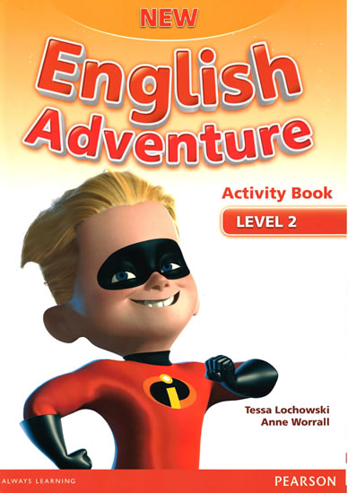 New English Adventure 2 Activity Book w/ Song CD Pack - Anne Worrall
