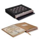 Paperblanks Silver Filigree Blush Pink Ultra 10-year Journal