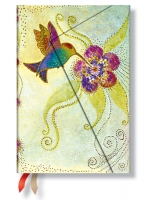 Paperblanks 2016 Hummingbird Mini 12 Horizontal Diary
