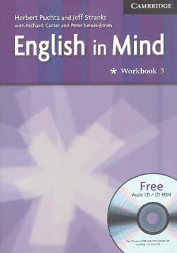English in Mind Level 3 Workbook with Audio CD/CD-ROM - PUCHTA, H.