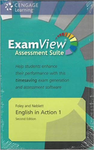 ENGLISH IN ACTION Second Edition 1 EXAMVIEW CD-ROM + EXAMVIEW AUDIO CD - FOLEY, B. H., NEBLETT, E. R.
