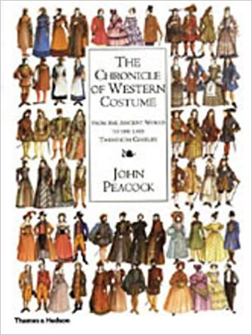 CHRONICLE OF WESTERN COSTUME - PEACOCK, J.