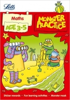 Maths Age 3-5 (Letts Monster Practice)