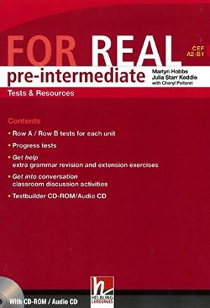 FOR REAL PRE-INTERMEDIATE TESTS & RESOURCES + TESTBUILDER CD...
